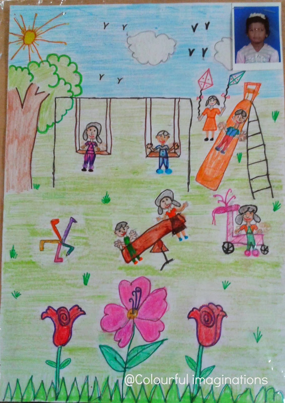 1132x1600 Colourful Imaginations !!!!!!! A Day Out In The Park