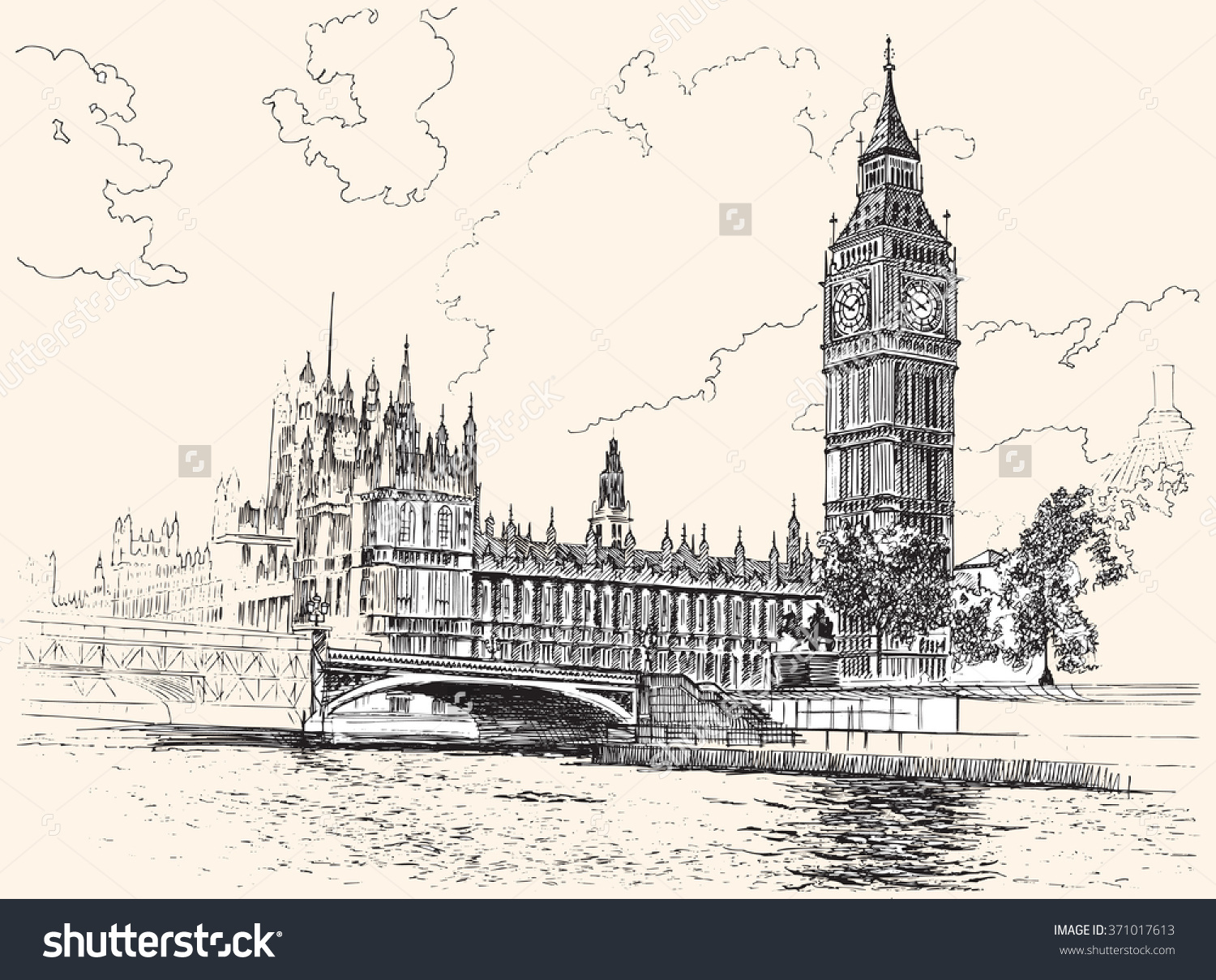 1500x1209 Big Ben And Houses Of Parliament, Westminster, London, Hand