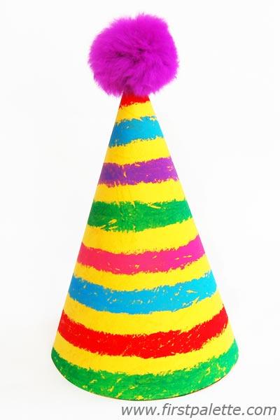 400x600 Birthday Hat Craft Kids' Crafts