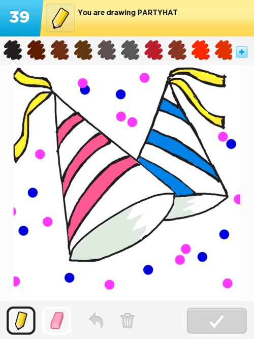 500x667 Partyhat Drawings