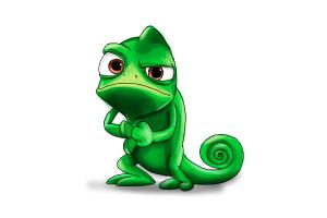 300x200 How To Draw Pascal From Tangled