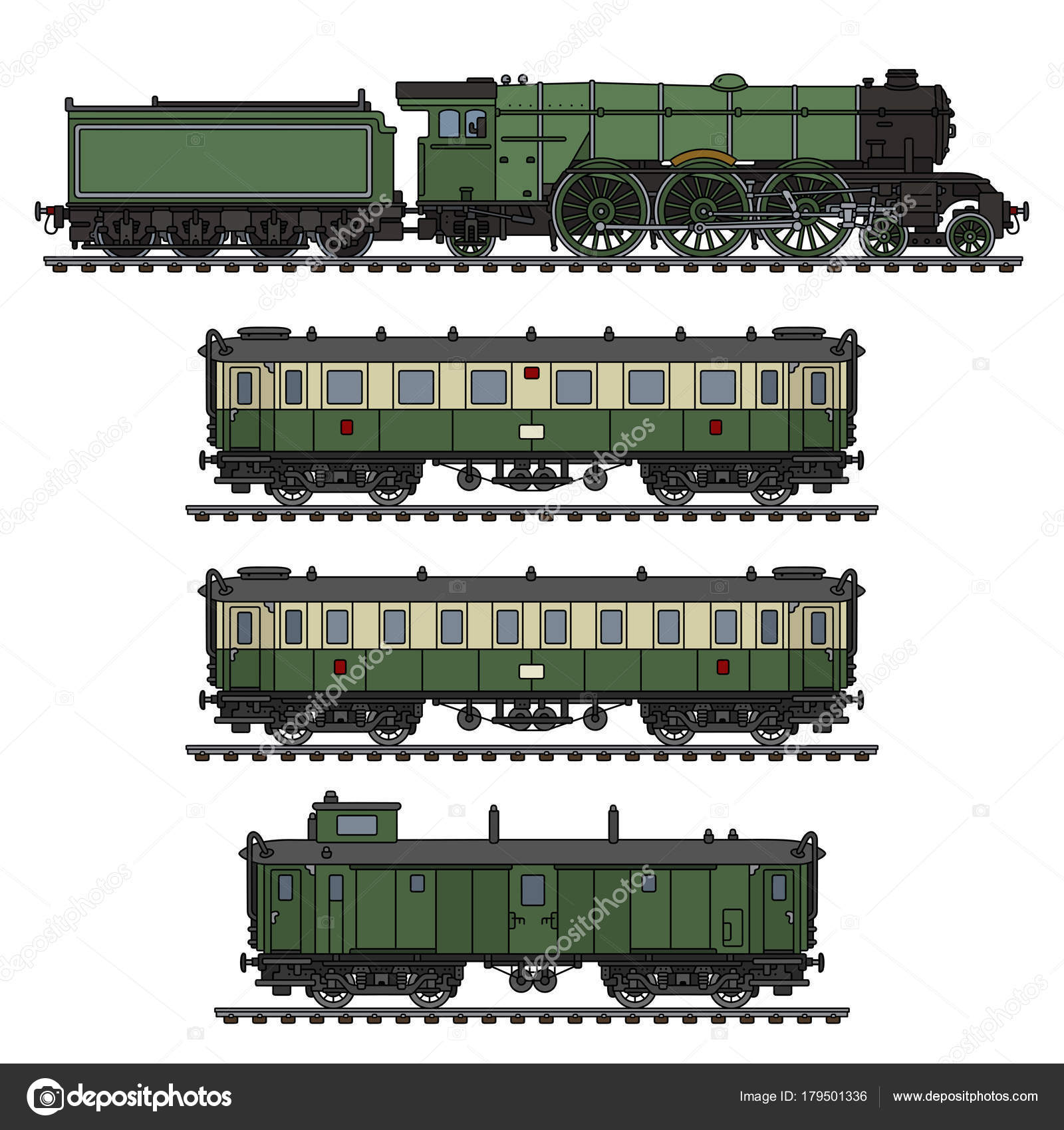 Passenger Train Drawing at GetDrawings.com | Free for personal use ...