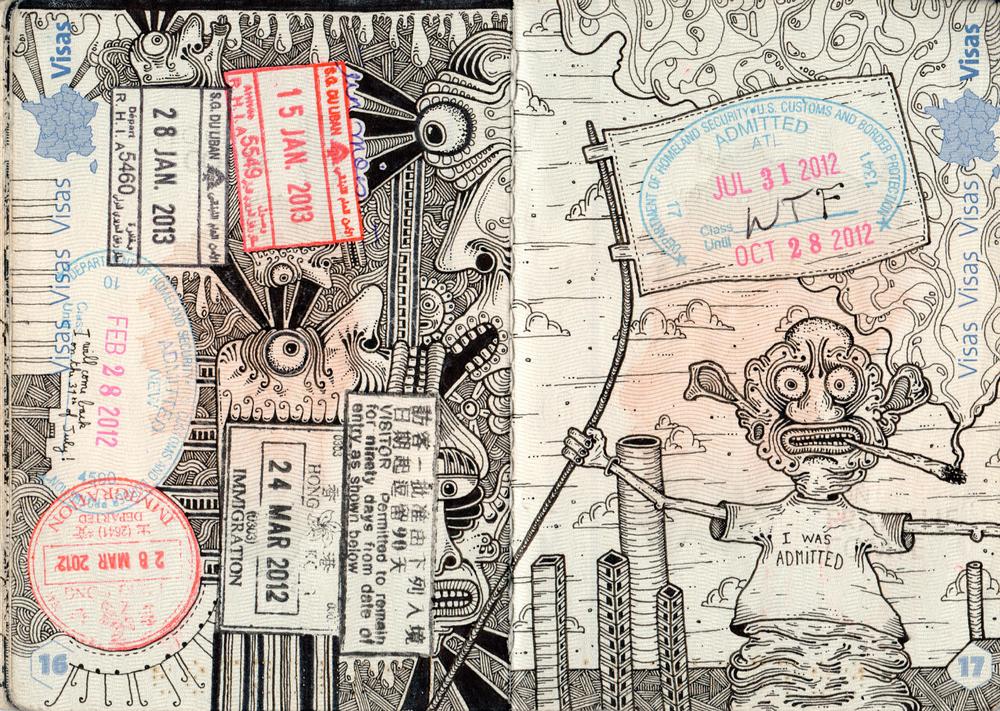 1000x711 Combier Passport Drawings