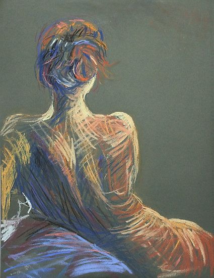 425x550 Red Head Pastel Drawing By Ochre67. Drawing Inspiration