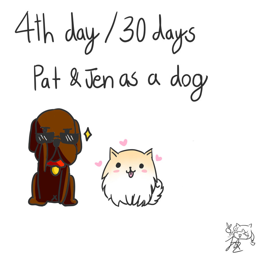 894x894 30 Day Drawing Challenge Pat And Jen Day 4 By Jqdraws