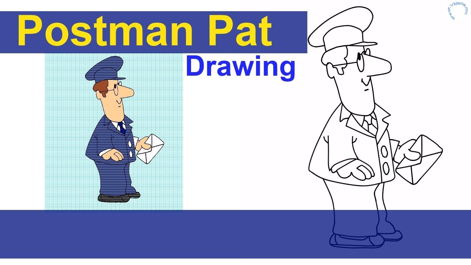 1600x900 Postman Pat Drawing