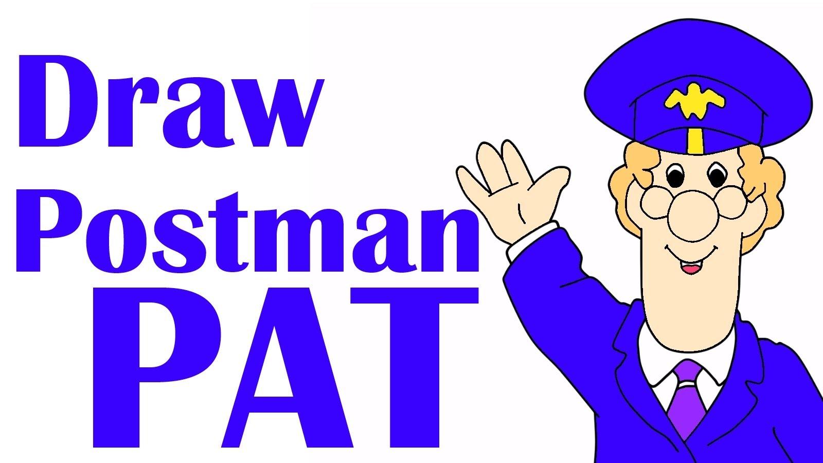 1600x900 Postman Patrick Drawing