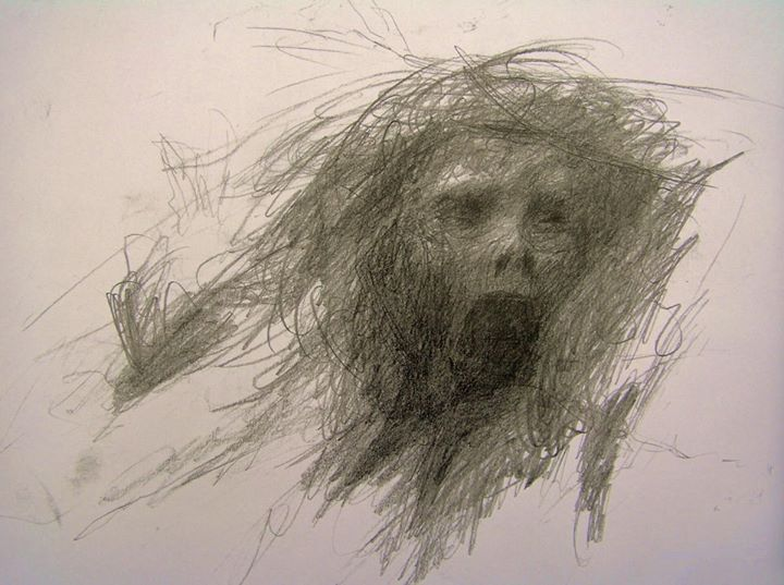 720x537 Mental Patient In A Psychotic State Drew This Just Before He Took