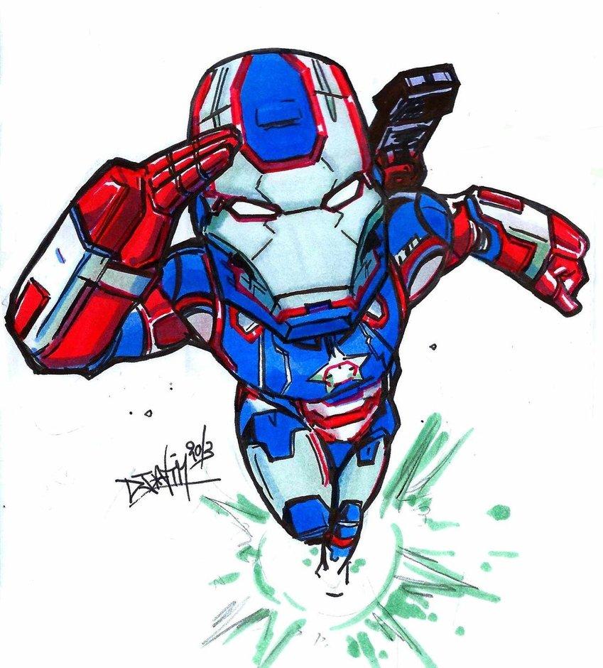 849x940 Iron Patriot By Djiguito