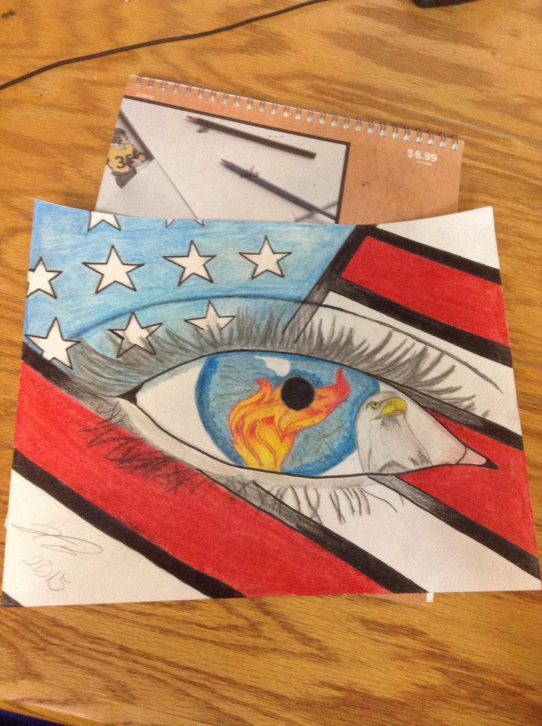 772x1034 Patriotic Drawing By Undisputedart