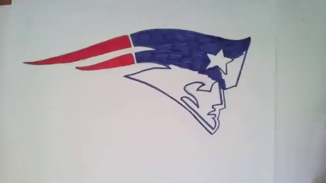1280x720 How To Draw New England Patriots Logo