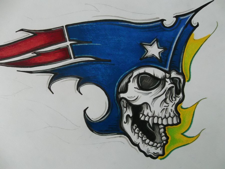900x675 New Patriots Logo By Tinnoka On Bad To Da Bean