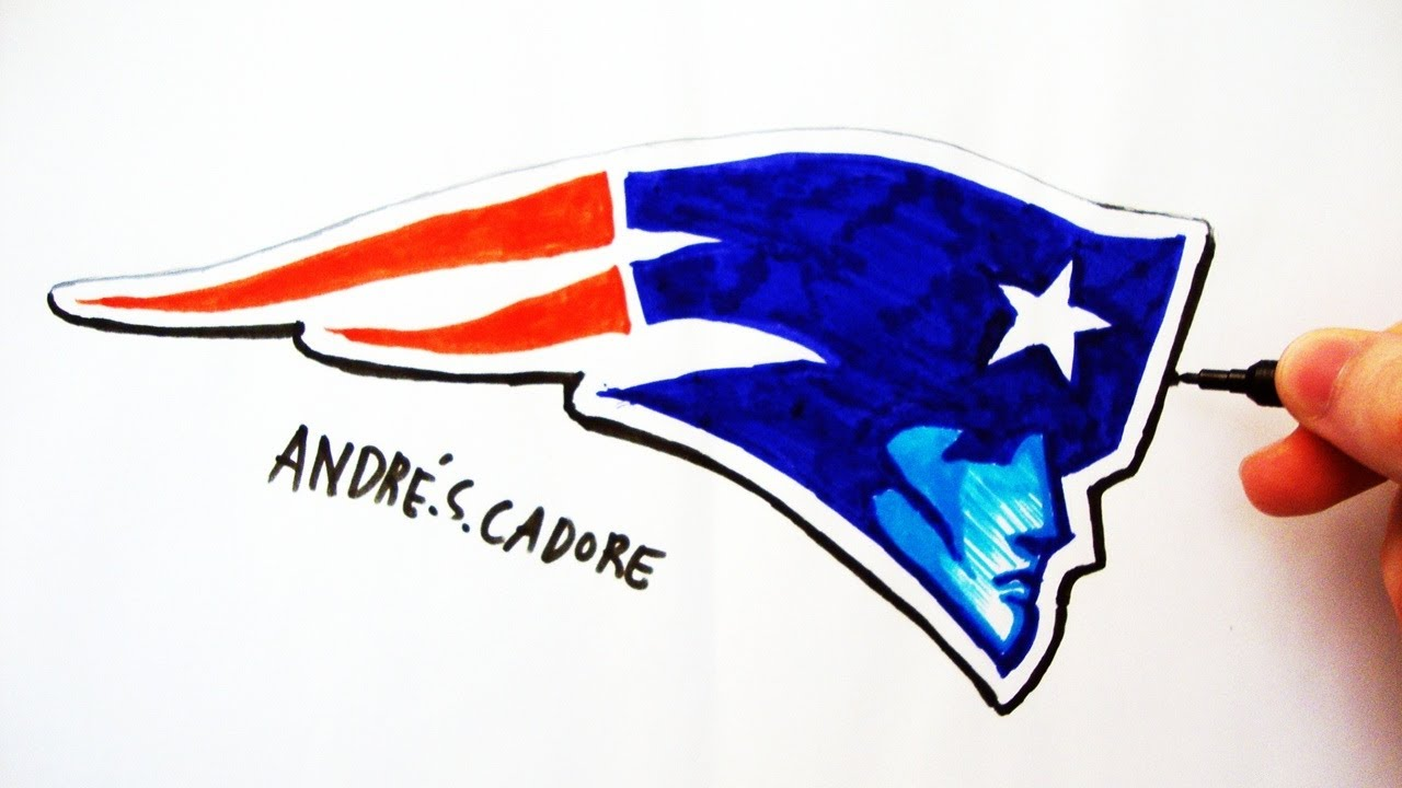 patriots logo drawing at getdrawings com free for personal use rh getdrawings com how to draw the old patriots logo how to draw the new england patriots logo