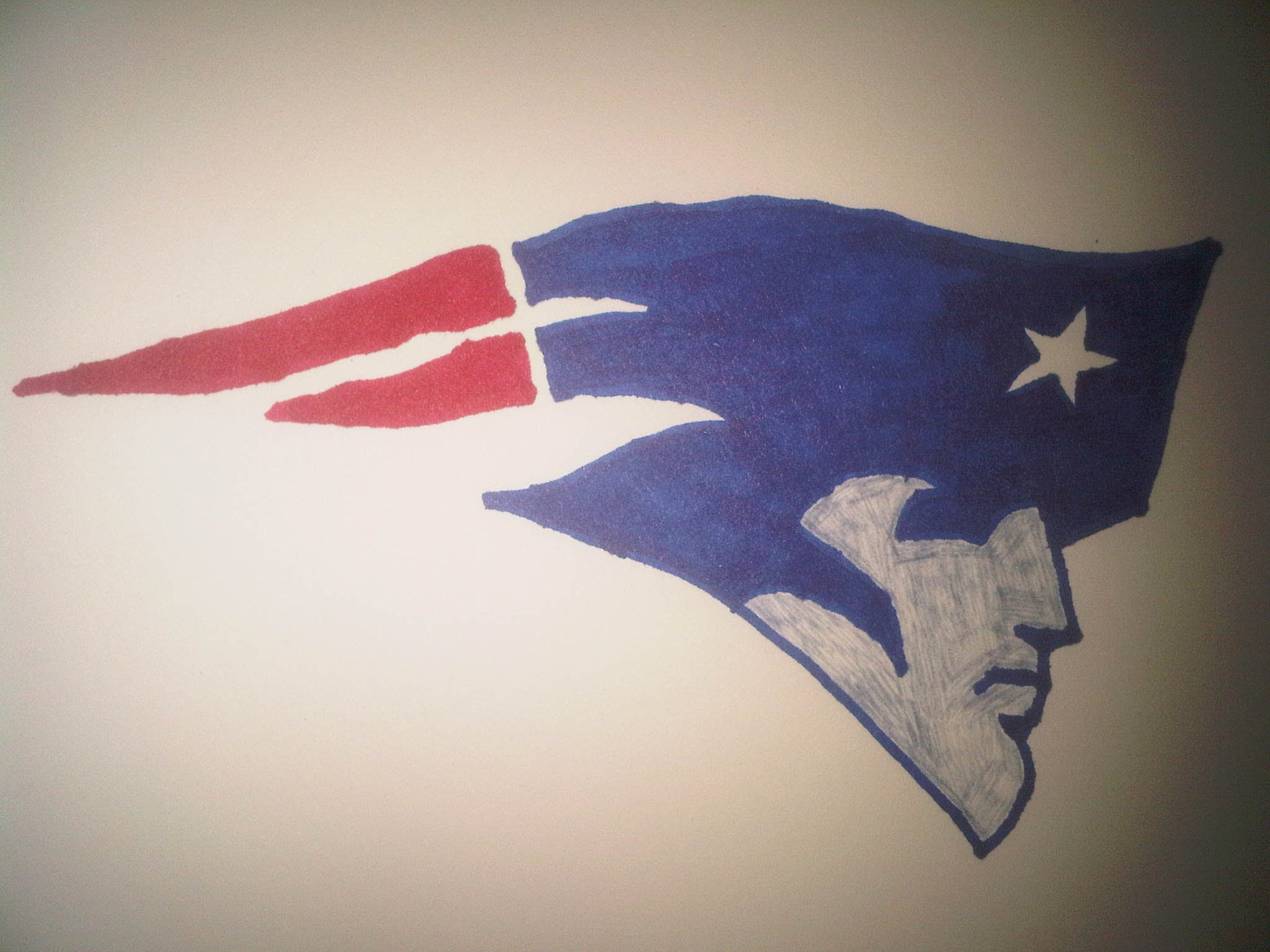 2048x1536 How To Draw The New England Patriots Logo