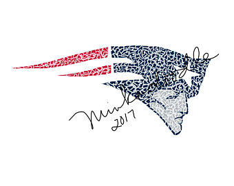 340x270 Items Similar To New England Patriots 3d Wooden Logo On Etsy