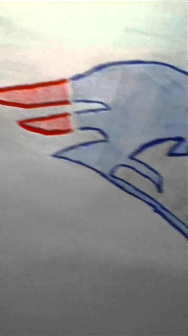 607x1080 Patriots Logo Drawing