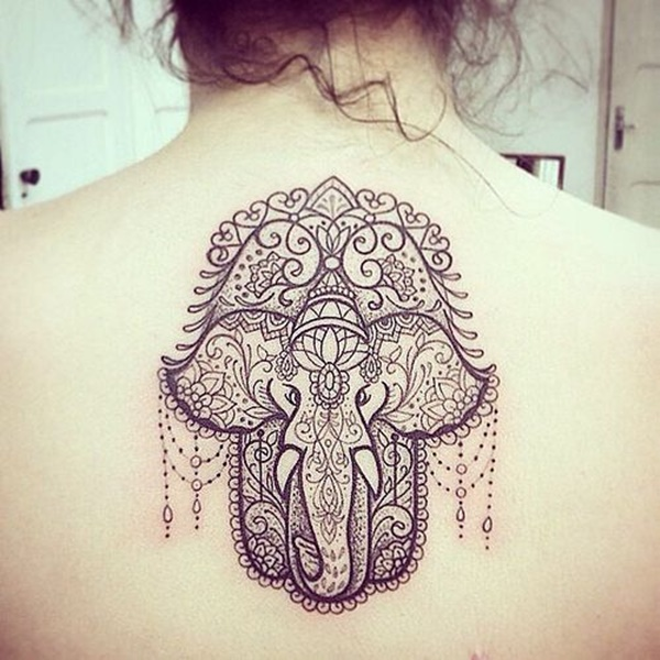 600x600 101 Elephant Tattoo Designs That You'Ll Never Forget