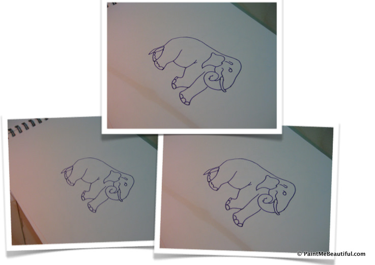 737x521 Indian Motif Elephant How To Draw