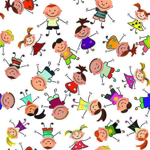 500x500 Kid Drawing Patterns Free Vector Download (107,528 Free Vector