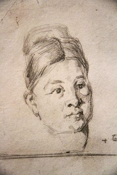 236x354 From A Page Of Studies, Including One Of Madame Paul