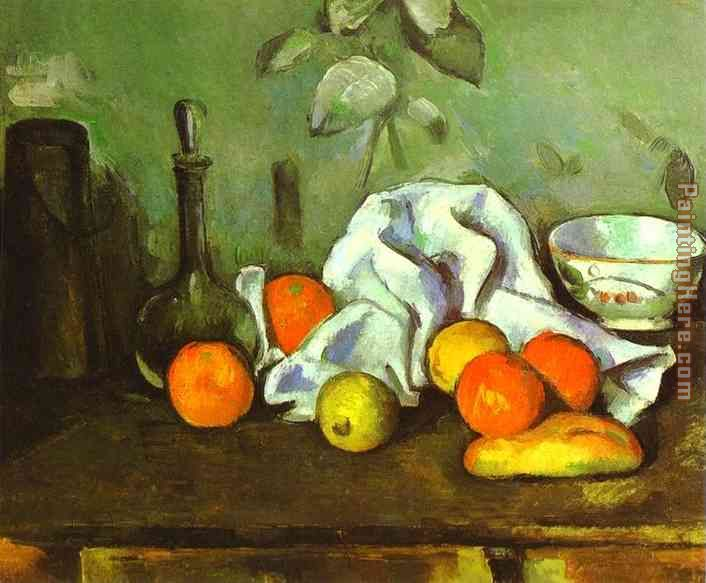 706x583 Paul Cezanne Still Life With Fruit Painting Anysize 50% Off