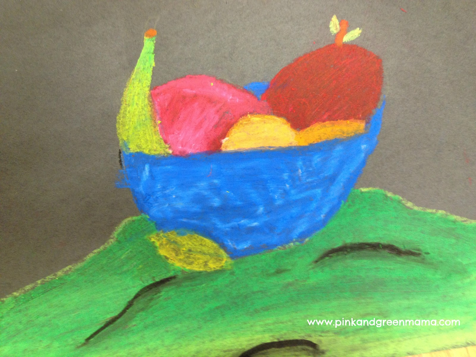 1600x1200 Pink And Green Mama Paul Cezanne Inspired Still Life Drawings
