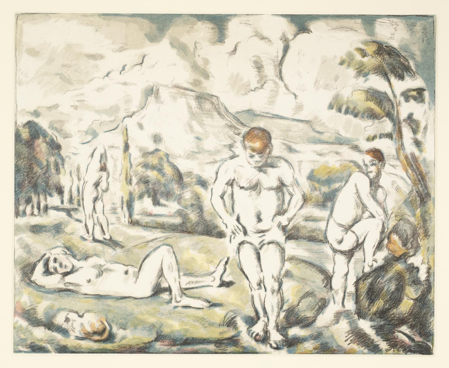 1536x1259 The Large Bathers', Paul C.1898 Tate