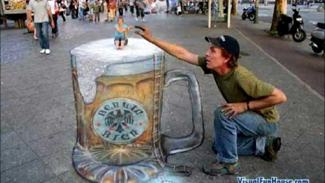 1280x720 Coolest 3d Sidewalk Art