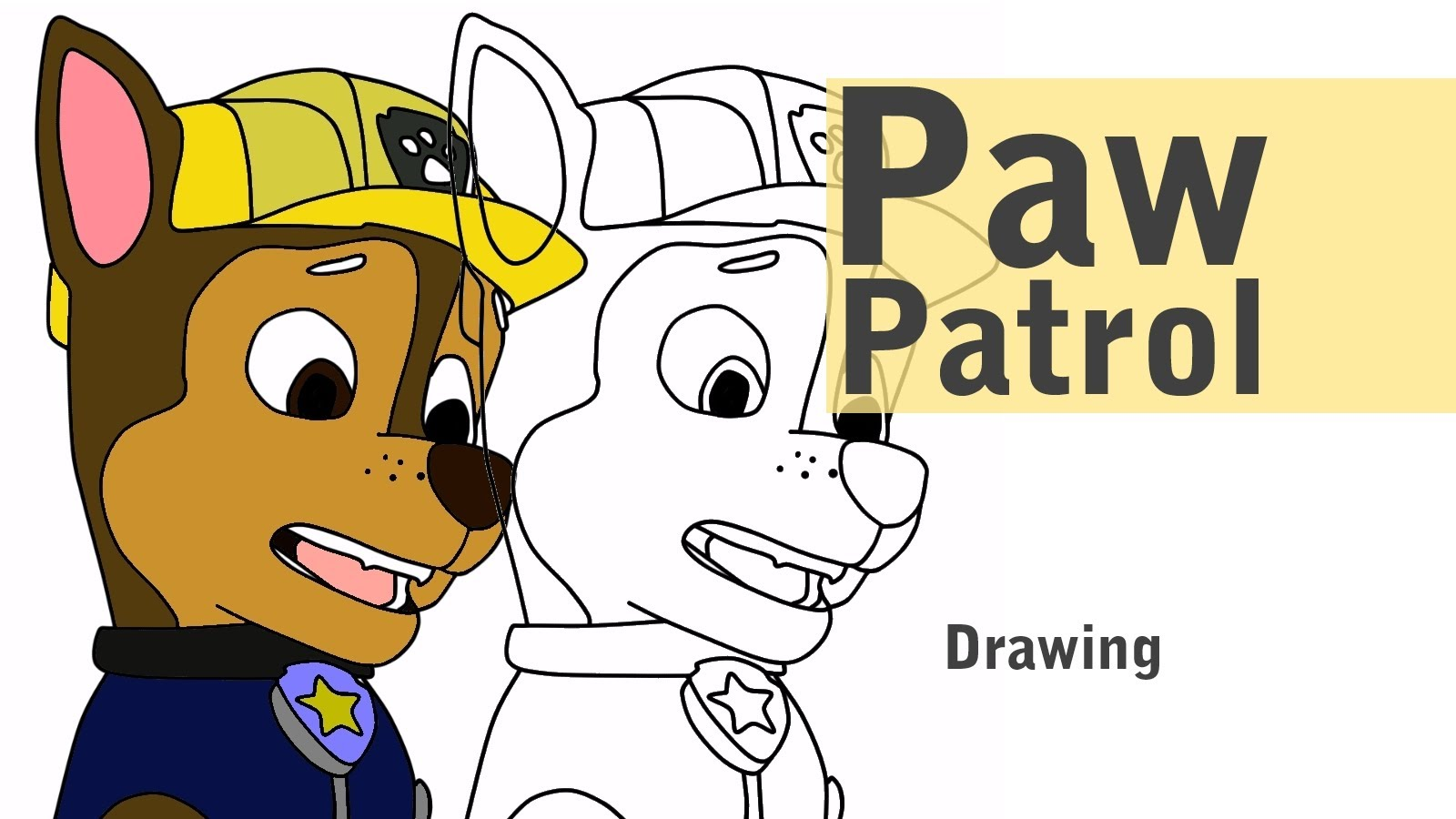 Paw Patrol Ausmalbilder Tracker : Paw Patrol Chase Drawing At Getdrawings Com Free For Personal Use