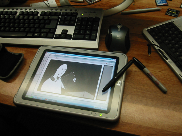 640x480 News And Stuff Inking On My New Tablet Pc