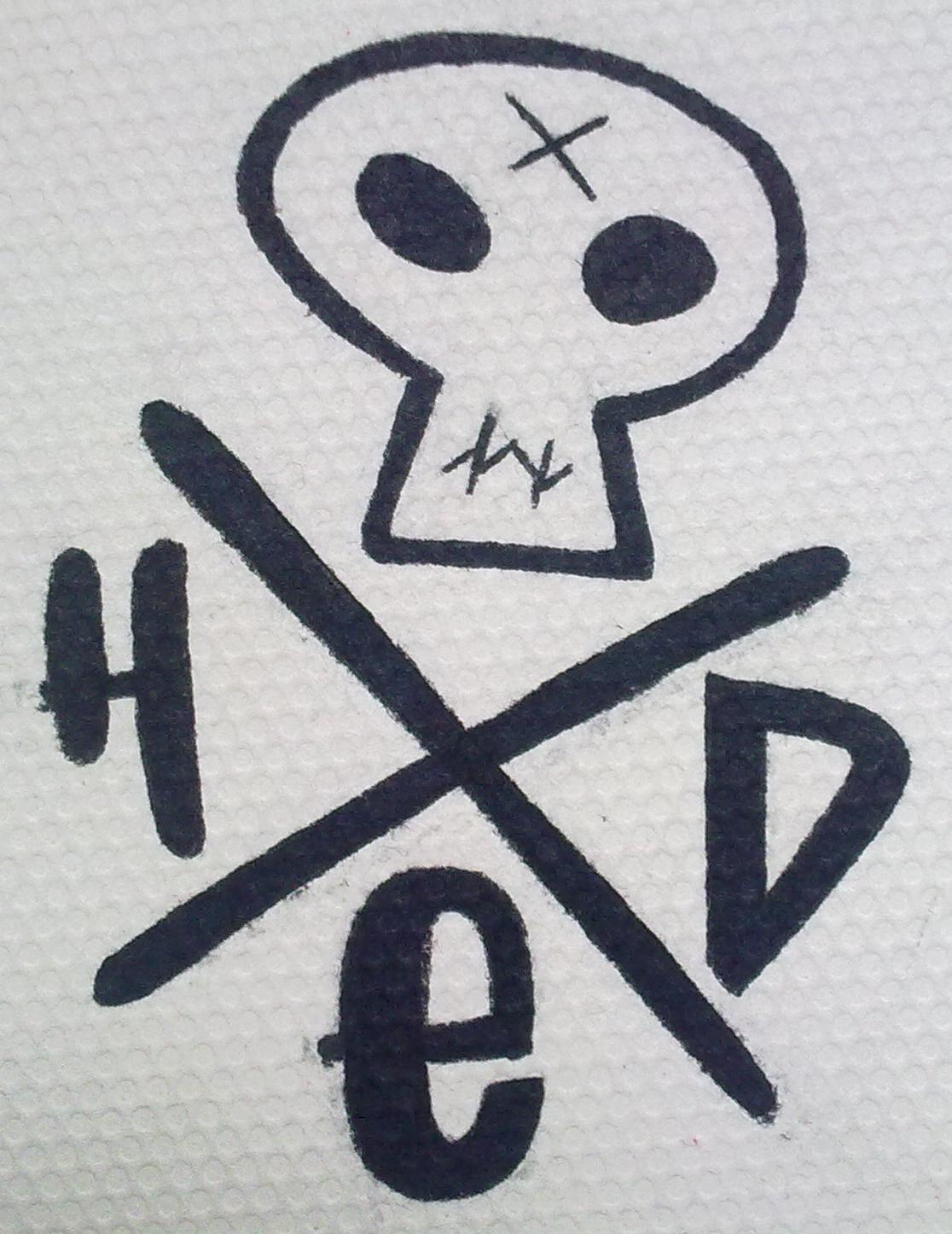 1116x1446 I Heart He'D Pe Logo Hed Pe Drawing Punx