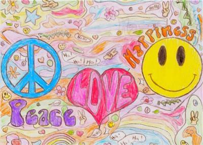 400x286 Peace, Love, Amp Happiness