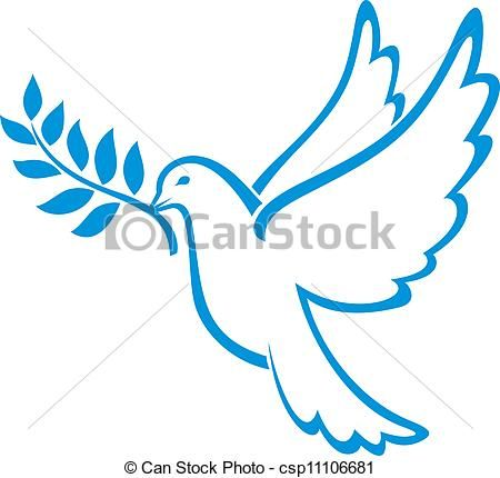 450x430 Vector Of Dove Of Peace Peace Dove, Symbol Of Peace Csp11106681