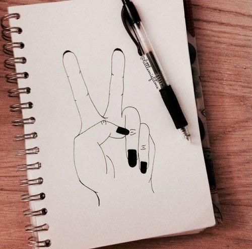500x495 Hand Draw