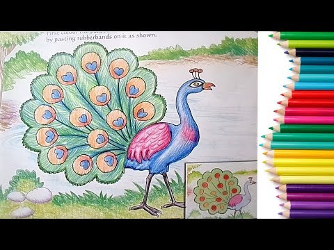 Peacock Drawing Easy At Getdrawings Com Free For Personal Use