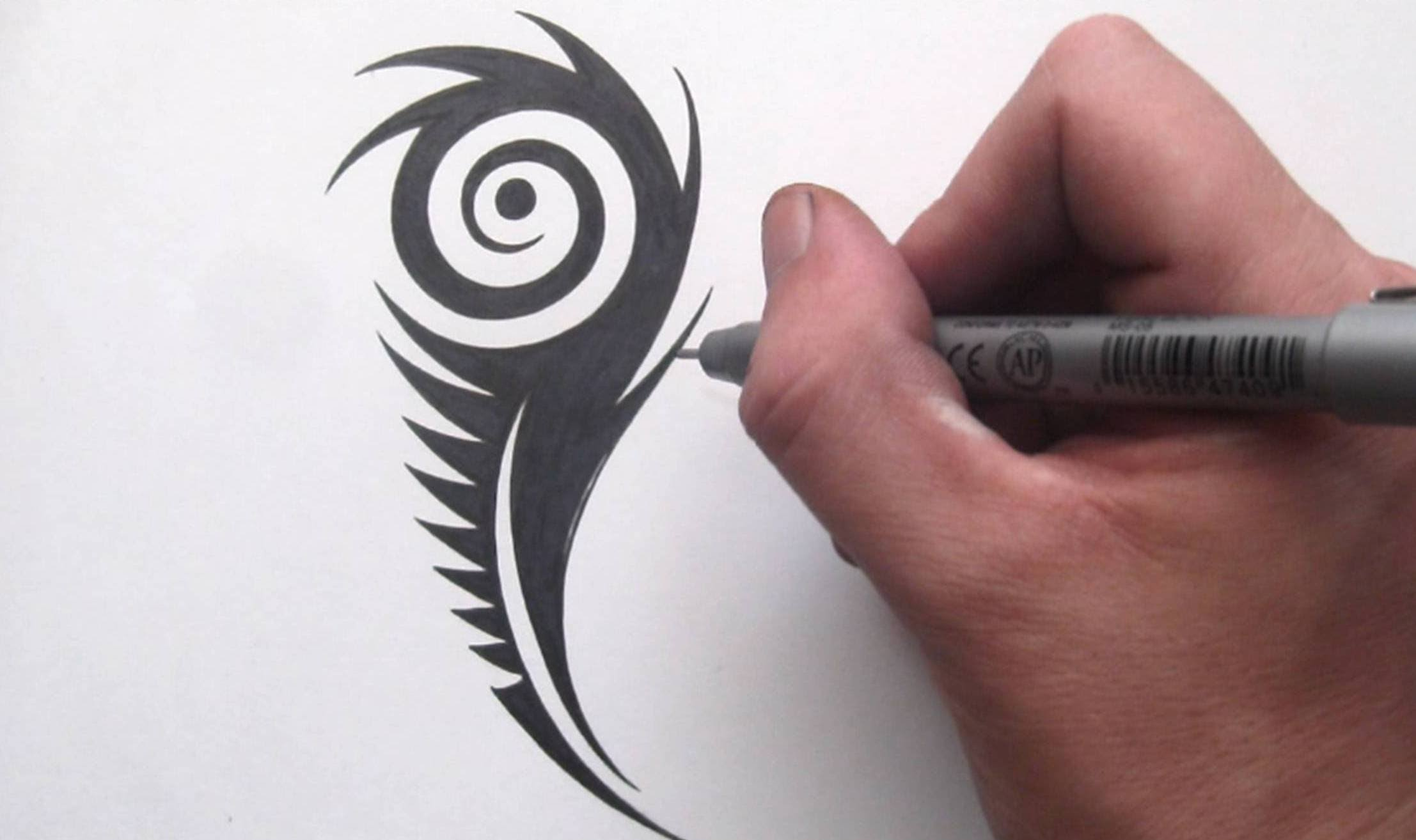 2214x1314 How To Draw A Peacock Feather