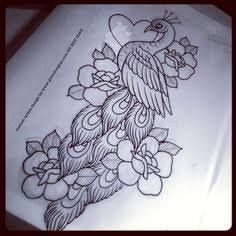 236x236 Image Result For Peacock Drawing Tattoo Chilukalu