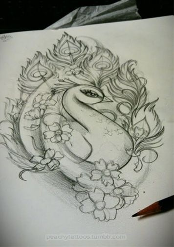 356x504 Peacock Tattoo