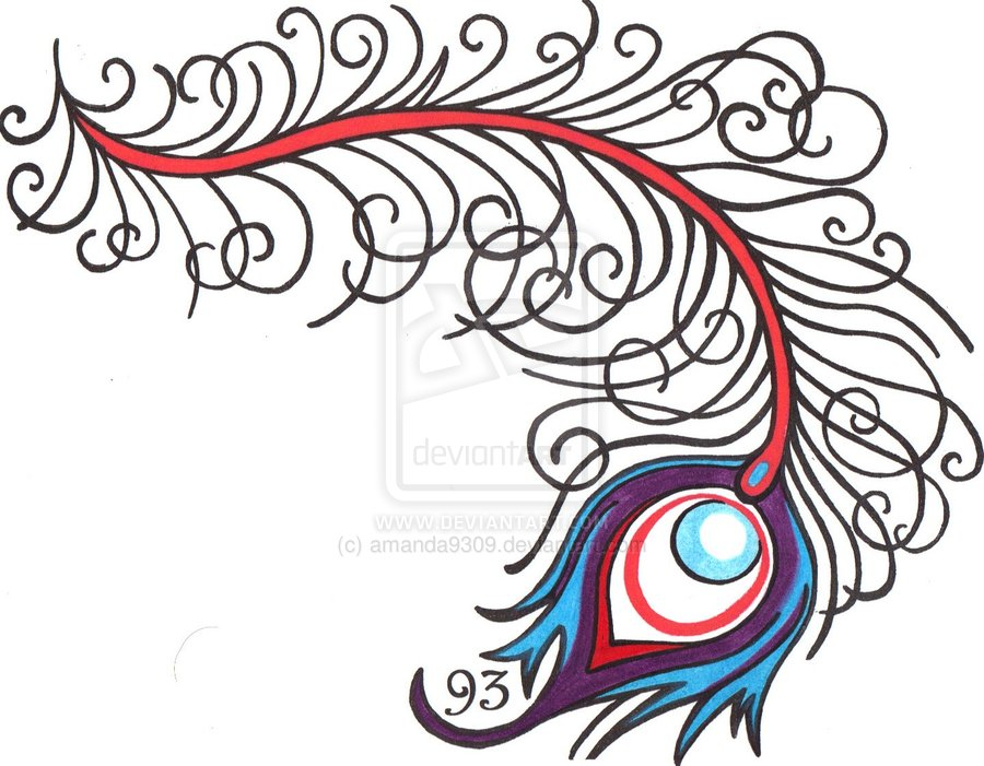 Peacock Simple Drawing At Getdrawings Com Free For Personal Use