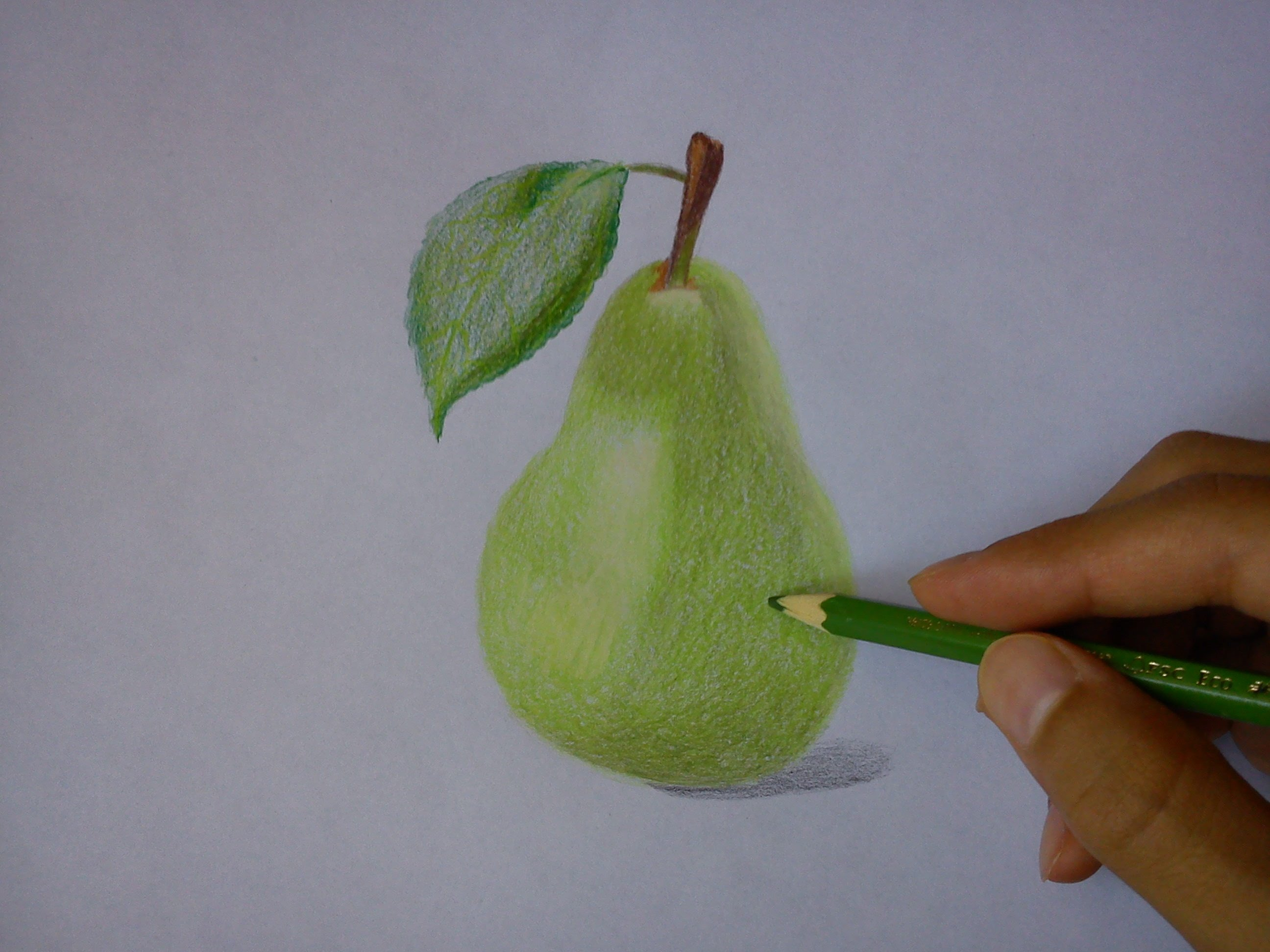 2592x1944 How To Draw A Pear