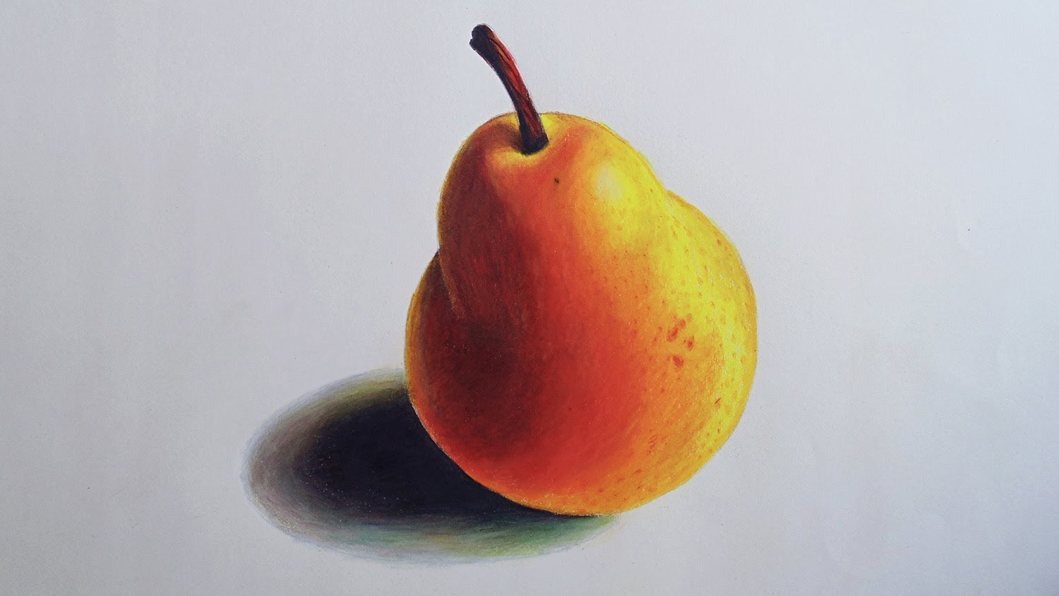 Pear Drawing At GetDrawings.com