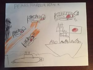 300x225 Drawing Pearl Harbor Attack Ebay