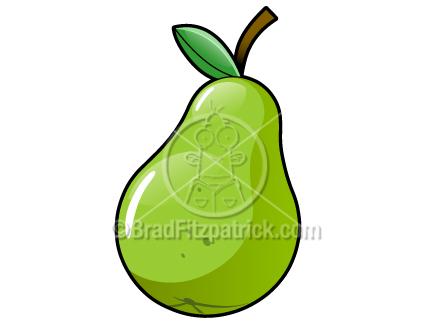 432x324 Cartoon Pear Clip Art Pear Graphics Clipart Pear Icon Vector