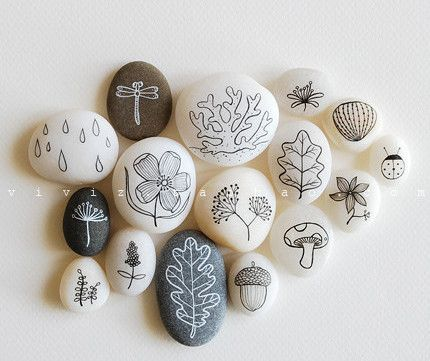430x361 Caillouxavril Painted Rocks Rock, Craft And Rock Art