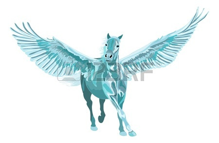 450x294 Flying Horse Stock Photos. Royalty Free Business Images