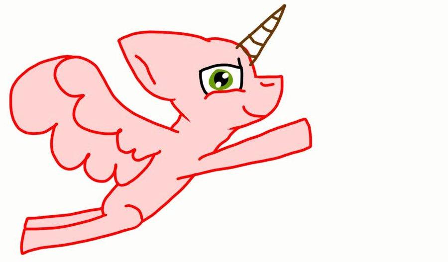 900x527 Mlp Base Pegasusalicorn Flying By Sleepaway55
