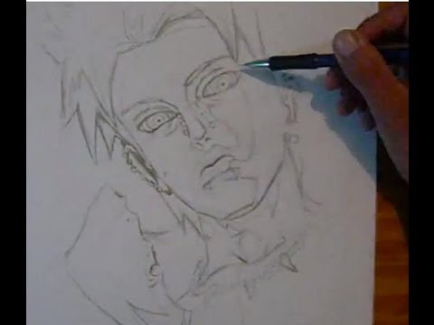 480x360 Drawing Yahiko Pain With Rinnegan