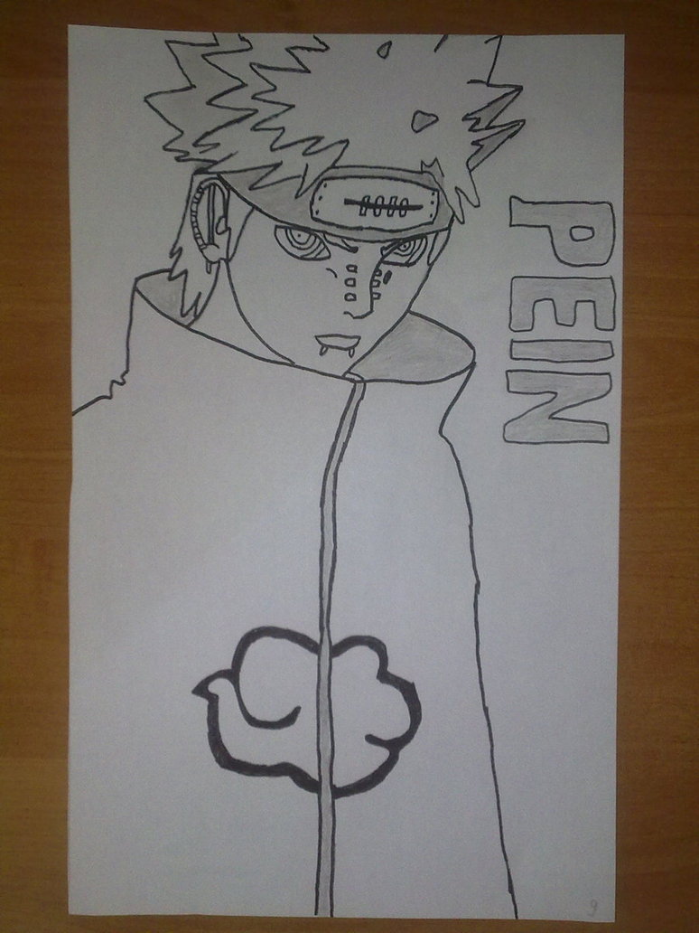 774x1032 Pein Drawing By Superkillzone94