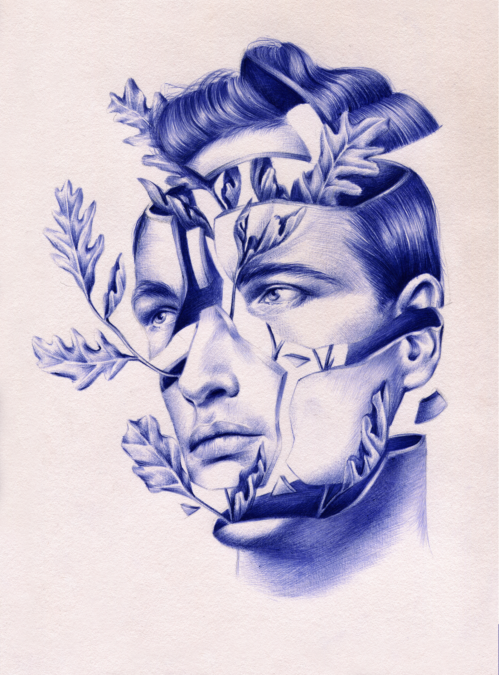 1600x2163 These Gorgeous Drawings Are 100% Ballpoint Pen