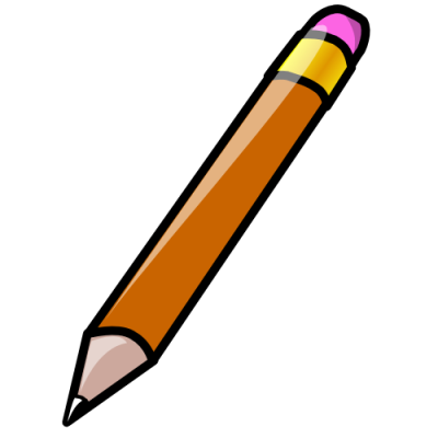 400x400 Awesome Pencil Drawing Clipart